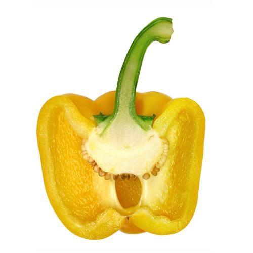 Propiedades pimiento california amarillo