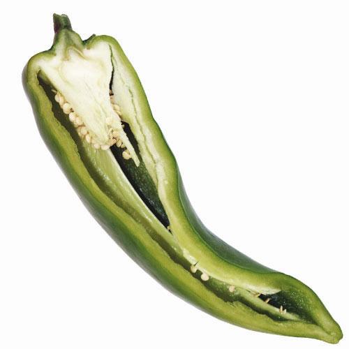 Propiedades pimiento italiano Verde