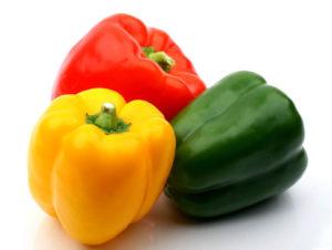 Comprar pimientos ecológicos rojos, amarillos y verdes