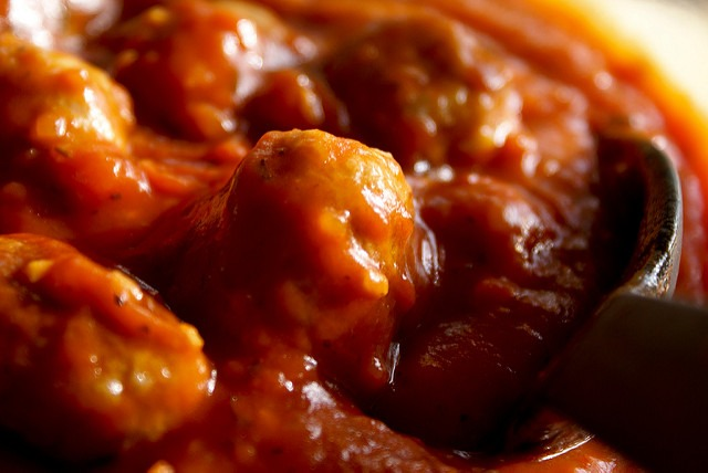 Recetas de Albóndigas con Salsa de Tomate