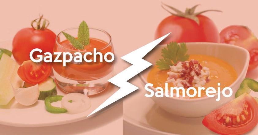 Diferencia entre Gazpacho y Salmorejo