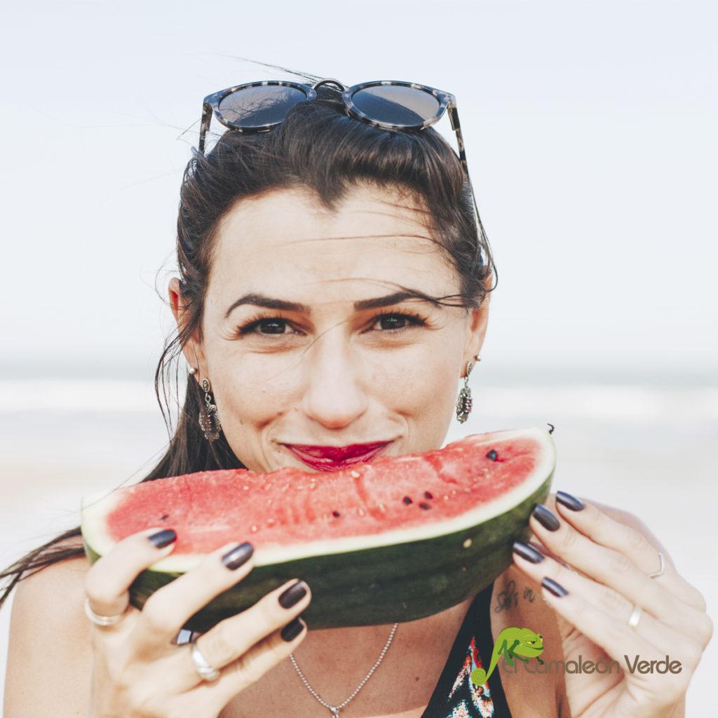 Hidratación con alimentos ecológicos