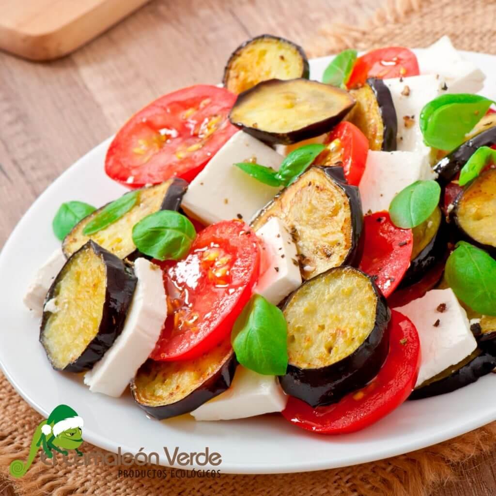 receta de ensalada de berenjena saludable