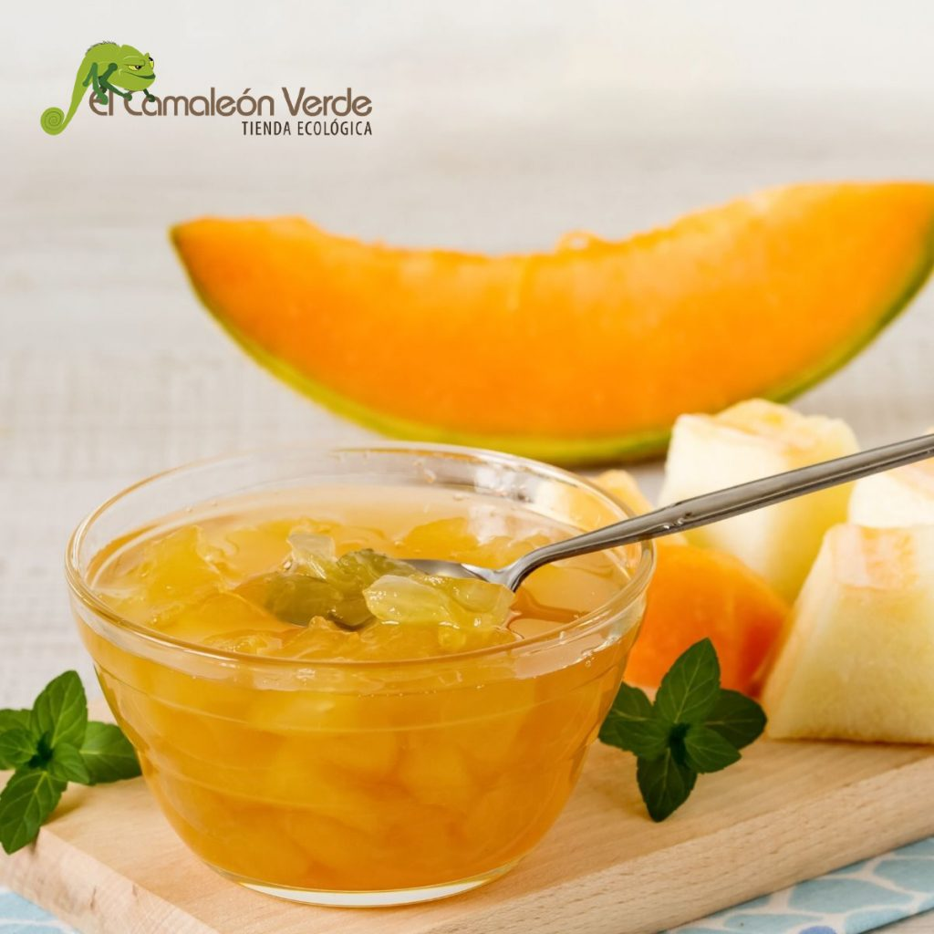 Melón y mermelada de melón